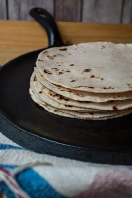 new tortilla recipe!